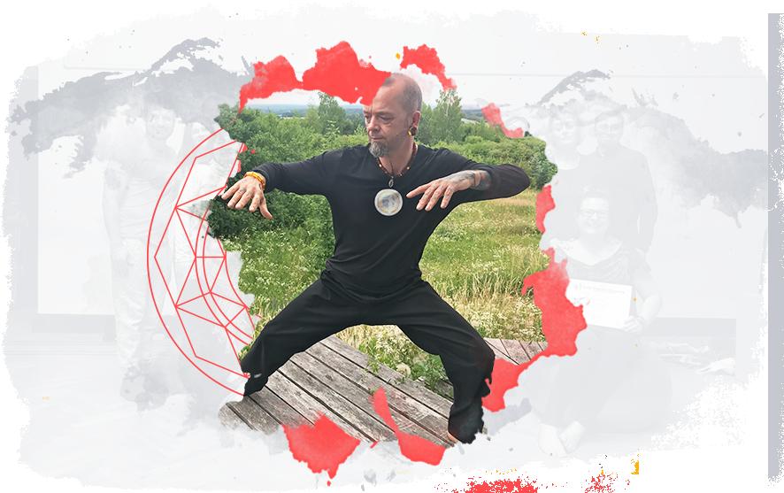 Zdjęcie trenera treningu QiGong - Simon Calder