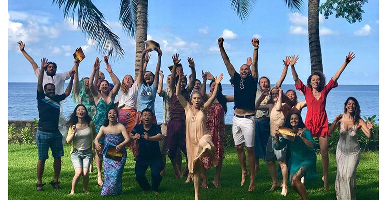 Drugi obrazek tematyki Lomi Lomi Nui