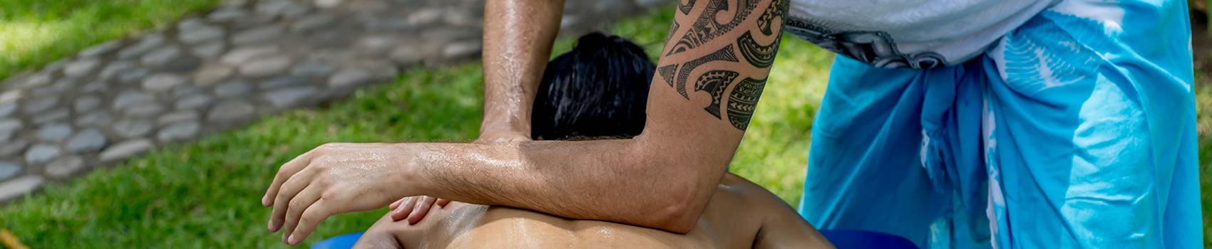 Baner główny strony Lomi Lomi Nui